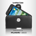 Brando Workshop Leather Case for Huawei Ascend Y200 U8655 (Pouch Type)