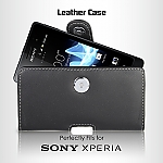 Brando Workshop Leather Case for Sony Xperia ion LT28i (Pouch Type)