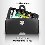 Brando Workshop Leather Case for LG Optimus True HD LTE P936 (Pouch Type)