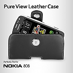 Brando Workshop Leather Case for Nokia 808 PureView (Pouch Type)