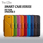 Momax iPhone 5 / 5s Premium Leather Smart Stand Case