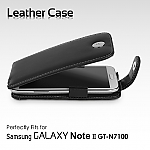 Brando Workshop Leather Case for Samsung Galaxy Note II N7100 (Flip Top)