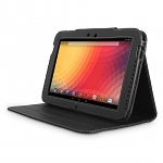 Brando Workshop Leather Case for Google Nexus 10 GT-P8110 (Side Open w/ magnet)