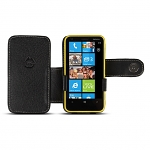 Brando Workshop Leather Case for Nokia Lumia 620 (Side Open)