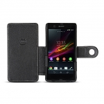 Brando Workshop Leather Case for Sony Xperia Z (Side Open)
