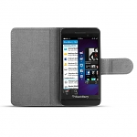 Brando Workshop Leather Case for Blackberry Z10 (Ultra-Thin Side Open)