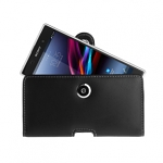 Brando Workshop Leather Case for Sony Xperia Z1 (Pouch Type)