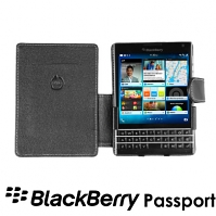 Brando Workshop Leather Case for BlackBerry Passport (Side Open)