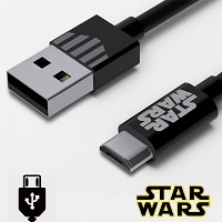 Tribe Star Wars Darth Vader micro USB Cable