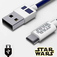Tribe Star Wars R2-D2 micro USB Cable