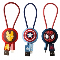Marvel Series USB Sync Charging Short Cable