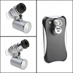 Samsung Galaxy S III I9300 Microscope with White 2-LED and Note Detector LED
