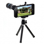Professional iPhone 5 / 5s 12x Zoom Telescope Camera Lens Kit with Tripod Stand
