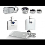 Portable Clip-On Universal Mobile Phone Camera Lens (Wide Angle + Marco + Fisheye Lens)
