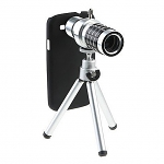 Professional Samsung Galaxy S III I9300 12x Zoom Telescope Camera Lens Kit with Tripod Stand