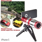 iPhone 5 / 5s Super Spy Ultra High Power Zoom 20X Telescope with Tripod Stand