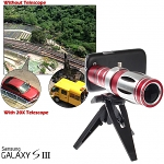 Samsung Galaxy S III Super Spy Ultra High Power Zoom 20X Telescope with Tripod Stand
