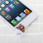 LINE Characters Plug-in 3.5mm Earphone Jack Accessory