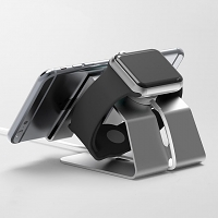 2-in-1 Aluminum Holder Stand