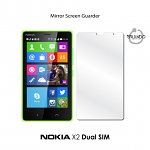 Mirror Screen Guarder for Nokia X2 Dual SIM