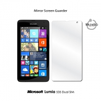 Mirror Screen Guarder for Microsoft Lumia 535 Dual SIM