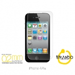 Brando Workshop 0.2mm Premium Tempered Glass Protector (iPhone 4 / 4s)