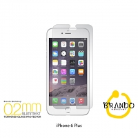 Brando Workshop 0.2mm Premium Tempered Glass Protector (iPhone 6 Plus)