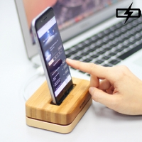 iPhone 6 Wooden Aluminum Holder