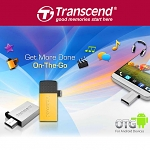 Transcend JetFlash 380 OTG USB Flash Drive