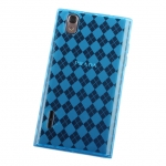 LG Prada 3.0 P940 Diamond Patterned Soft Plastic Case