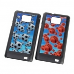 Samsung Galaxy S II 3D Motion Back Case - Balls