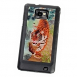 Samsung Galaxy S II 3D Motion Back Case - Tiger