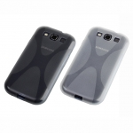 Samsung Galaxy S III I9300 X-Shaped Plastic Back Case