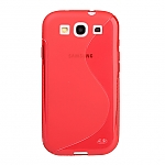 Samsung Galaxy S III I9300 Wave Plastic Back Case