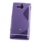 Sony Xperia U ST25i Wave Plastic Back Case