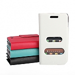 Samsung Galaxy W i8150 Ultra Slim Side Open Case With Display Caller ID And Answer Call