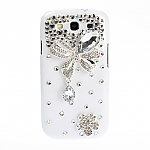 Samsung Galaxy S III I9300 Shiny Bling-Bling Back Case