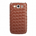 Samsung Galaxy S III I9300 Woven Leather Case