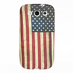 Samsung Galaxy S III I9300 Vintage National Flag Silicone Case