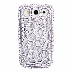 Samsung Galaxy S III I9300 Reticulate Paint Cracking Back Case