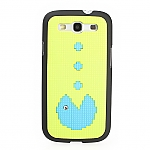 Samsung Galaxy S III I9300 Pac-Man Back Case