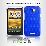 HTC One X Perforated Back Case