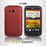 HTC Desire C Rubberized Back Hard Case