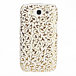 Samsung Galaxy S III I9300 Floral Line Back Case