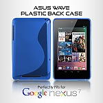 Google Nexus 7 Asus(2012) Wave Plastic Back Case