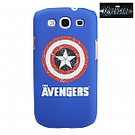 Samsung Galaxy S III I9300 MARVEL The Avengers - Captain America Logo Phone Case (Limited Edition)