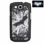 Samsung Galaxy S III I9300 Batman The Dark Knight Rises - Batman Logo splash-ink Phone Case (Limited Edition)