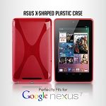 Google Nexus 7 Asus(2012) X-Shaped Plastic Back Case