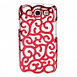 Samsung Galaxy S III I9300 Floral Line Art Case