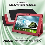 Artificial leather case for Asus Transformer Pad TF300T (Side Open)